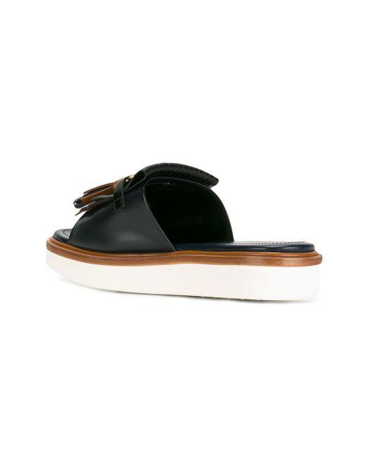 Tod's Fringe trim sandals VfuismiMRm