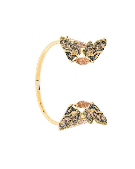 Astley Clarke | Metallic Bracciale Rigido 'emperor Moth' | Lyst