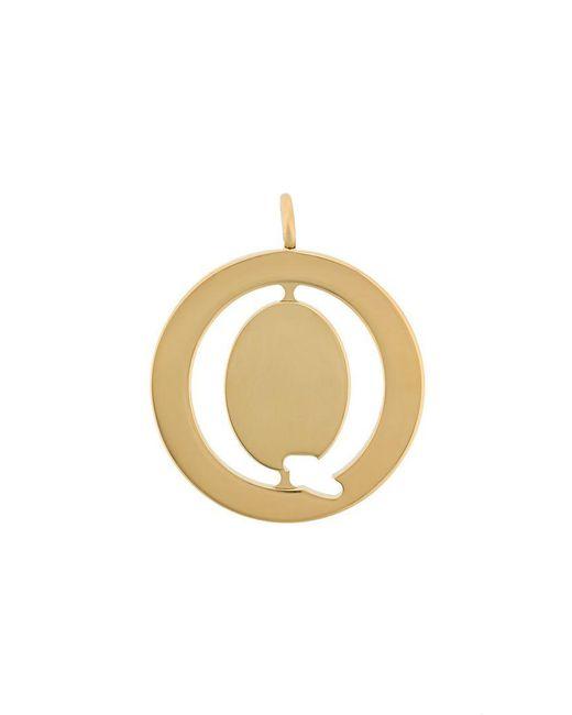 Chloé - Metallic Q Coin Pendant - Lyst