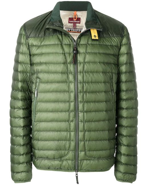 Parajumpers - Green Arthur Duvet Jacket for Men - Lyst ...