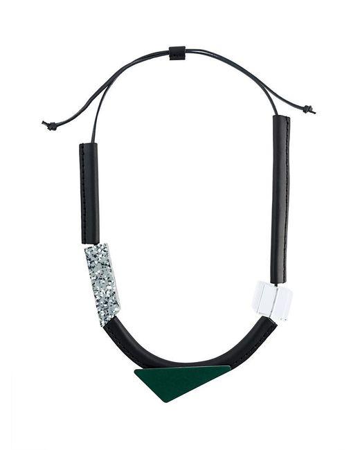 Enfold - Multicolor Geometric Necklace - Lyst