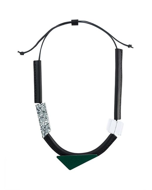 Enfold - Multicolor Geometric Necklace - Lyst