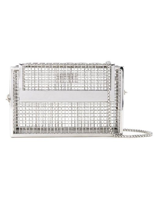 Cartel - Metallic Cage Shoulder Bag - Lyst