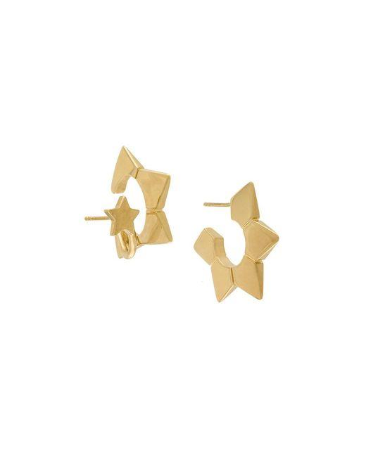 Chloé - Metallic Spiked Hoop Earrings - Lyst
