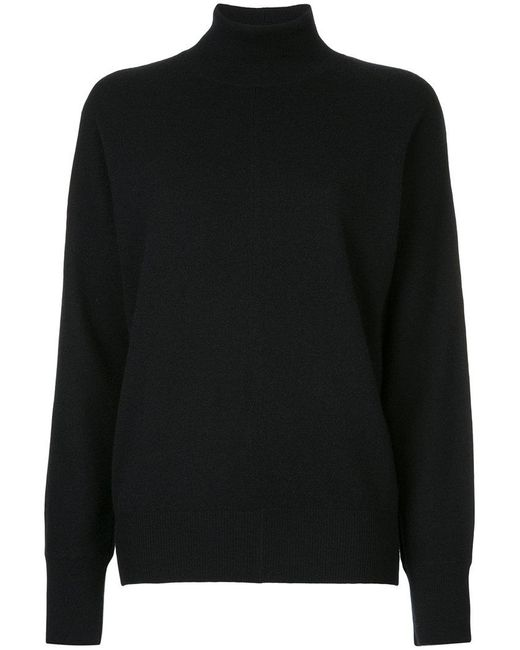 Astraet | Black Turtleneck Jumper | Lyst
