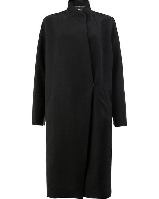 32 Paradis Sprung Freres - Black Cocoon Coat - Lyst