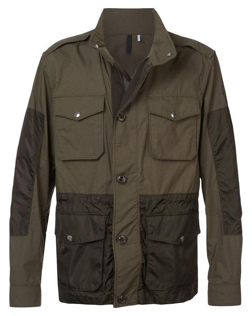 Moncler - Green Agard Field Jacket for Men - Lyst