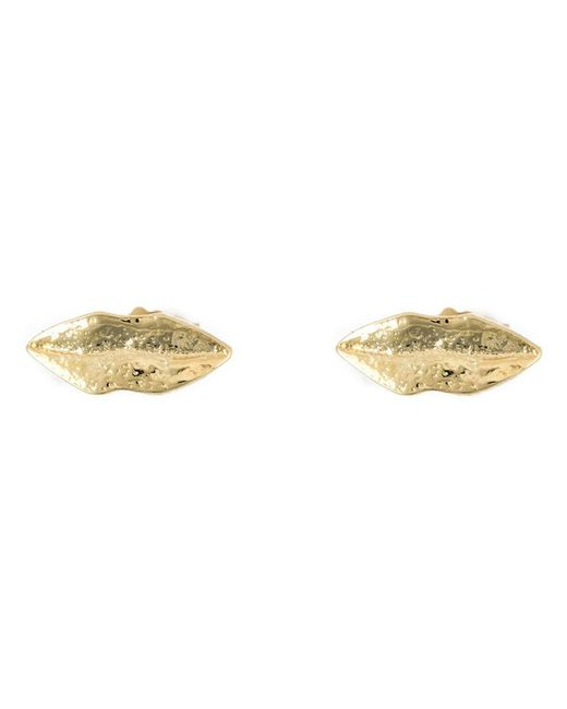 Wouters & Hendrix - Metallic 'kiss' Stud Earrings - Lyst