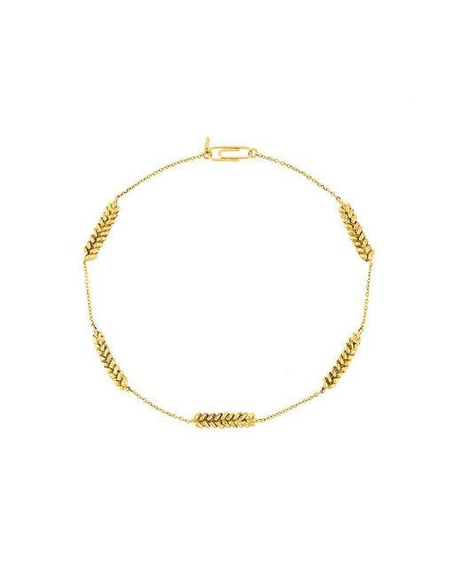 Aurelie Bidermann | Metallic 'five Wheat Cobs' Necklace | Lyst
