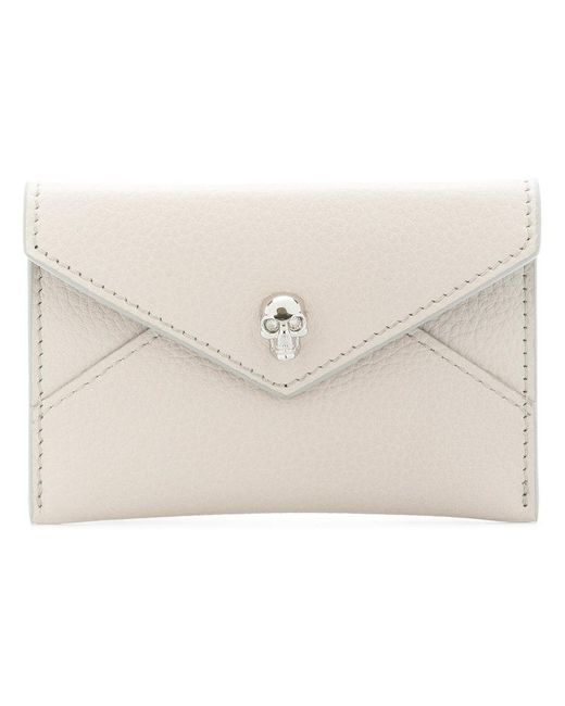 Alexander McQueen - Multicolor 275334bpt0i Bianco Leather/fur/exotic Skins->leather - Lyst
