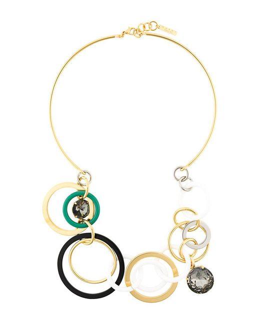 Marni | Metallic Multi-loop Statement Necklace | Lyst