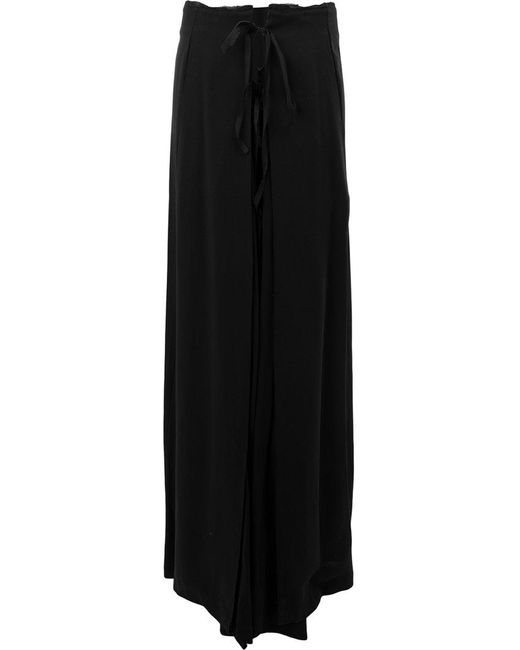 Ann Demeulemeester - Black Full Flared Skirt - Lyst