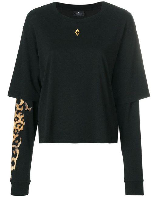 Leopard hoodie - Black Marcelo Burlon Best Store To Get Cheap Online Buy Cheap Official Site Get Online Outlet 2018 Unisex Sale Amazon xbZnBtc0