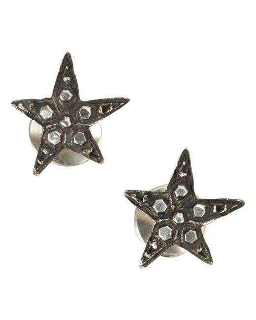 Werkstatt:münchen - Metallic Werkstatt:münchen Embellished Stars Earrings - Lyst
