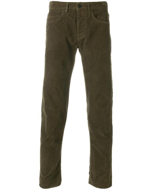 Pence | Green Distressed Straight Leg Jeans for Men | Lyst