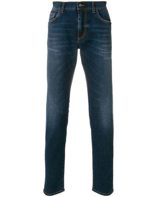 Dolce & Gabbana - Blue Slim-fit Jeans for Men - Lyst