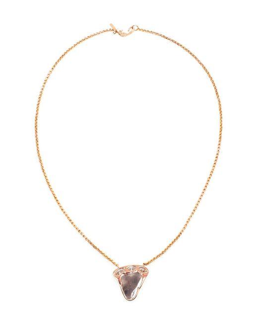 Dezso by Sara Beltran | Metallic 18k Gold Polki Diamond Pendant | Lyst