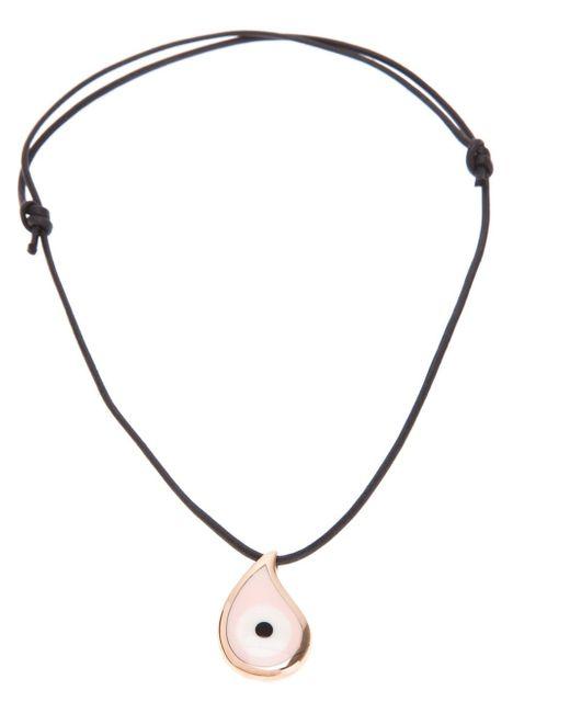 Gavello | Black 'bad Eye' Necklace | Lyst