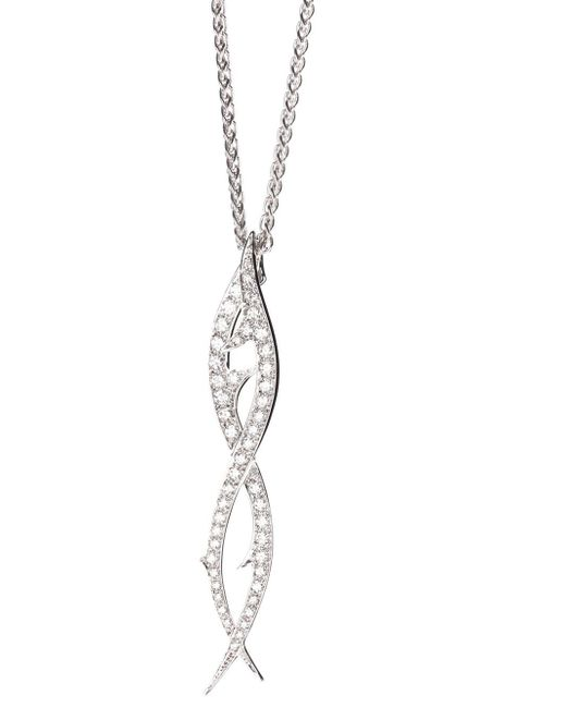 Stephen Webster | White 'thorn' Drop Pendant Necklace | Lyst