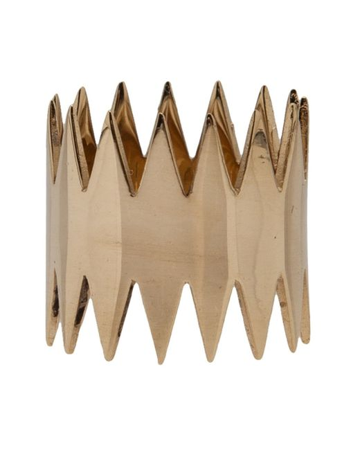 Annelise Michelson | Metallic 'double Carnivore' Ring | Lyst
