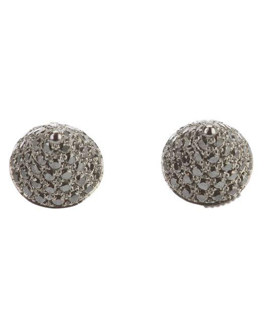 Elise Dray | Black Diamond 'mini Muse' Earrings | Lyst