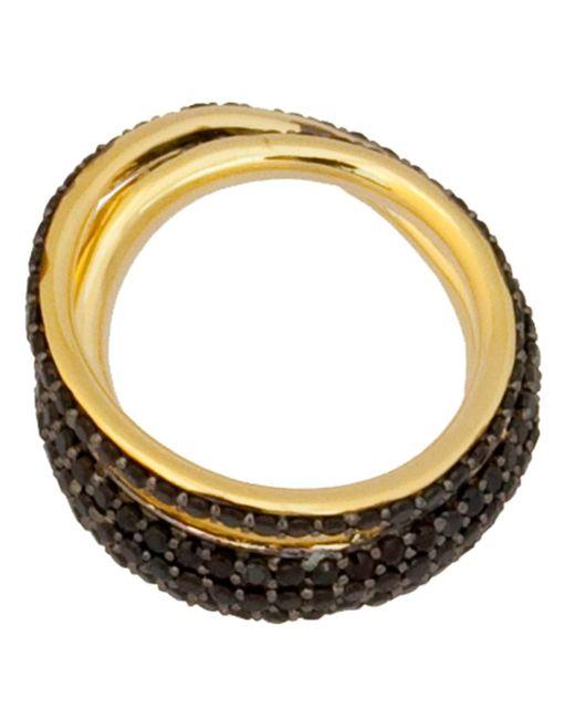 Tom Binns | Metallic 'saturn' Ring | Lyst