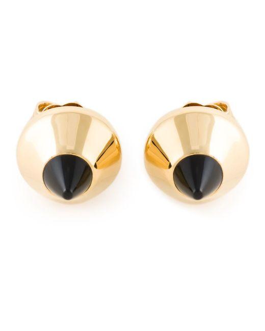 Lara Bohinc | Metallic 'eye' Stud Earrings | Lyst
