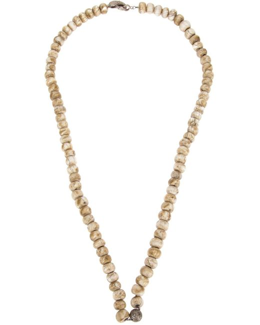 Loree Rodkin | Metallic Large Beaded Necklace | Lyst