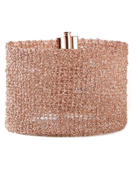 Christian Koban | Pink 'woven' Bracelet | Lyst
