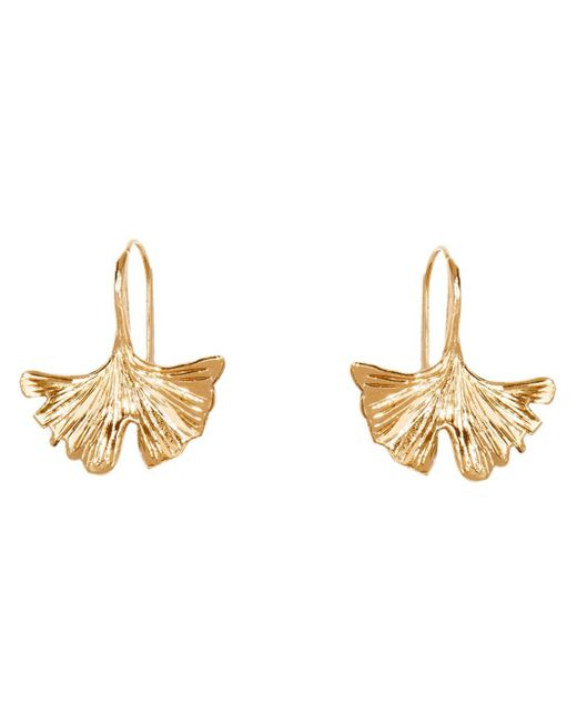 Aurelie Bidermann | Metallic 'tangerine' Small Earrings | Lyst