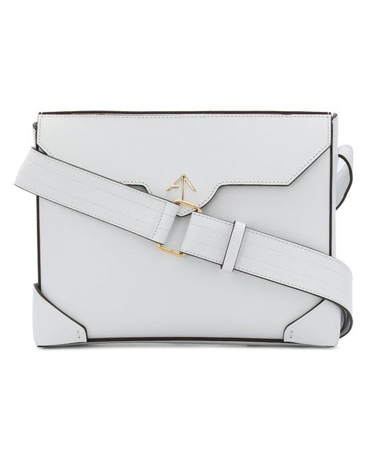 MANU Atelier - White Bold Crossbody Bag - Lyst