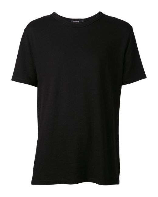 T By Alexander Wang | Black - Round Neck T-shirt - Men - Cotton - Xl for Men | Lyst