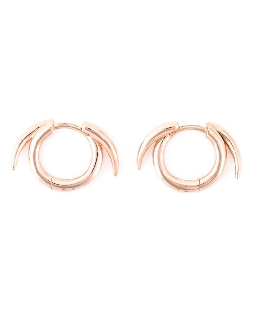 Shaun Leane | Pink Thorned Hoop Earrings | Lyst