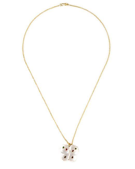 Marie-hélène De Taillac | Metallic Butterfly Pendant Necklace | Lyst
