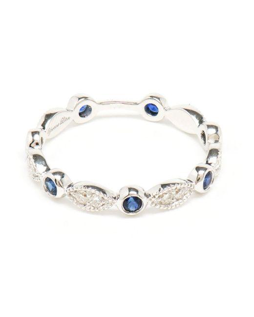Yvonne Léon   Blue Yvonne Léon Antique Diamonds And Sapphires Ring   Lyst