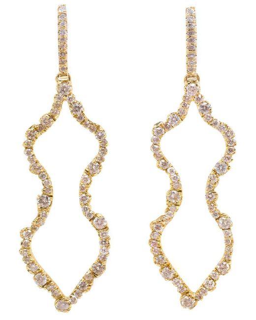 Kimberly Mcdonald   Metallic Diamond 'femme' Earrings   Lyst