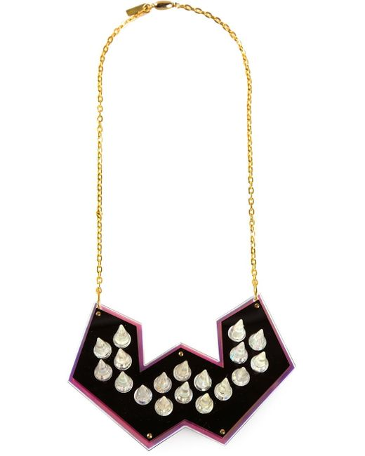 Sarah Angold Studio | Metallic Spiked Necklace | Lyst