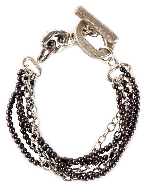 Henson | Black 'multi Strand' Bracelet | Lyst