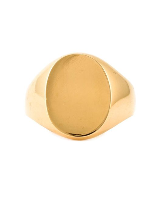 A Kind Of Guise | Metallic Signet Ring for Men | Lyst