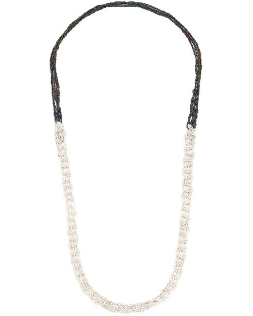 Arielle De Pinto | Black One Strand Chain Necklace | Lyst