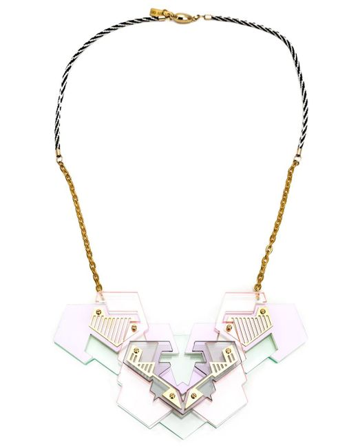 Sarah Angold Studio | Metallic 'annika' Necklace | Lyst
