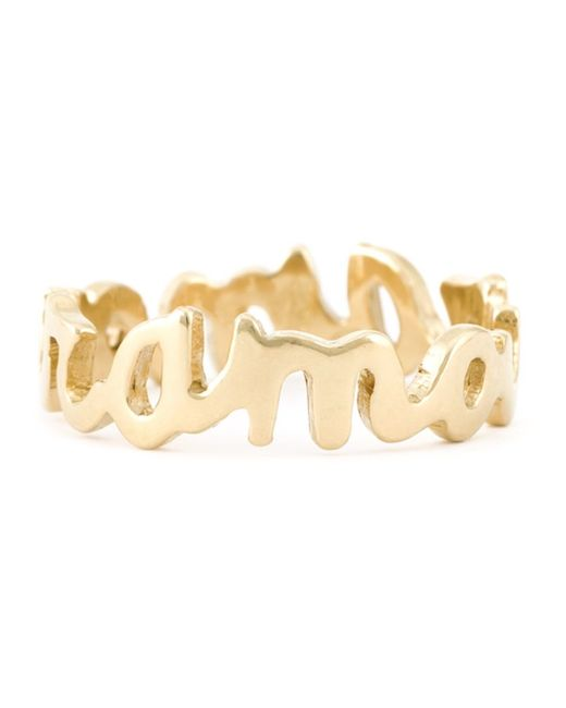 Wouters & Hendrix | Metallic 'amour' Ring | Lyst