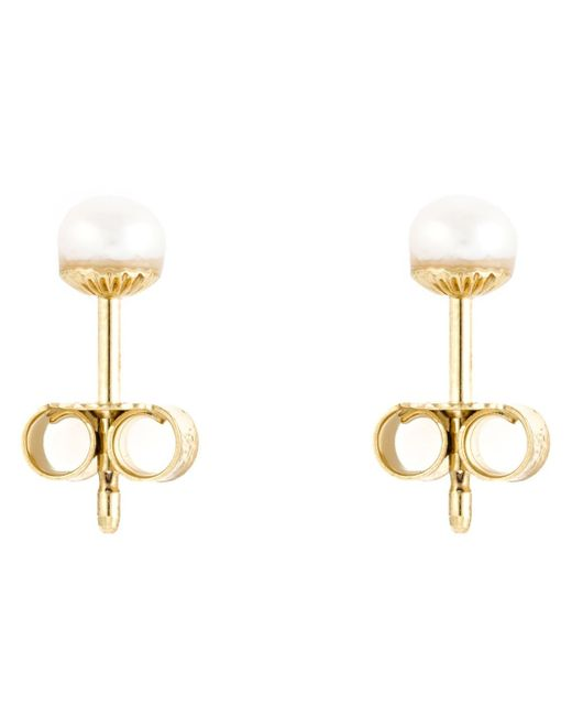 Wouters & Hendrix | Metallic Pearl Stud Earrings | Lyst