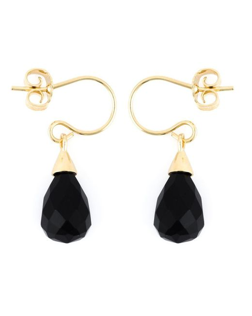 Wouters & Hendrix | Black Onyx Earrings | Lyst
