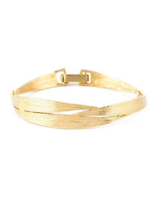 Wouters & Hendrix | Metallic 'bamboo' Bangle | Lyst
