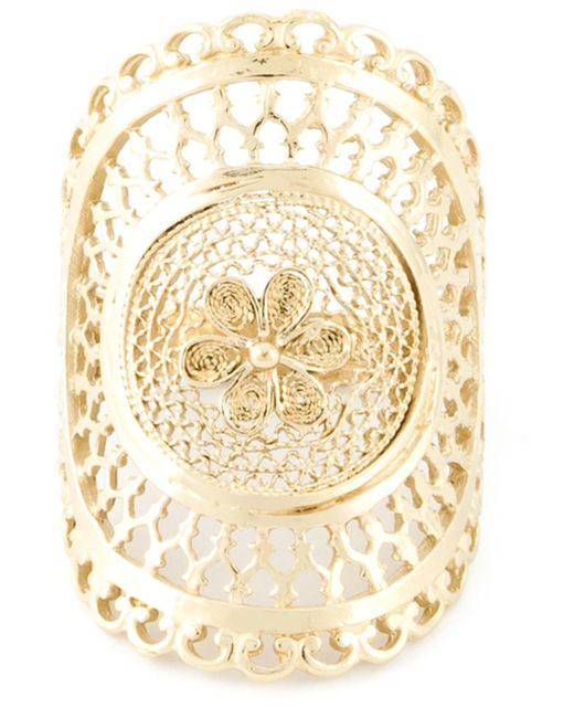Wouters & Hendrix | Metallic Filigree Ring | Lyst