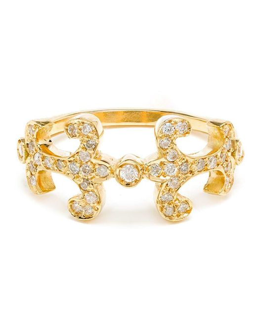 Sabine G | Metallic 'oona' Diamond Ring | Lyst