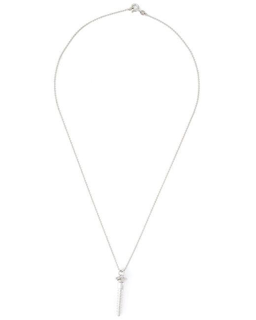 True Rocks | Metallic Large Screw Pendant Necklace | Lyst