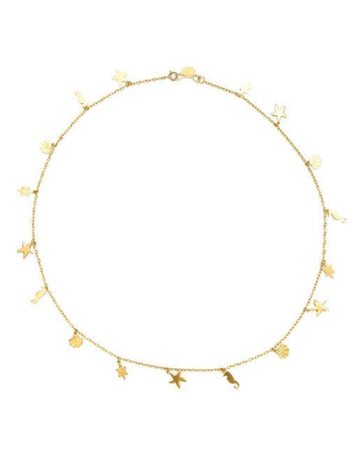 Marie-hélène De Taillac | Metallic Hawaii Charm Necklace | Lyst