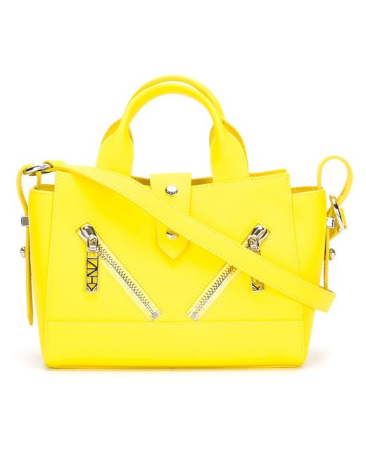 KENZO | Yellow 'kalifornia' Shoulder Bag | Lyst